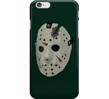 Friday The 13th: The Final Chapter Hockey Mask iPhone Case/Skin