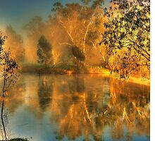 Murrumbidgee morning by Kevin McGennan