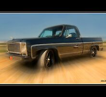 """1979 Chevy Silverado - 454 Cubic Inches of Giddy Up! by Michael """" Dutch """" Dyer"""