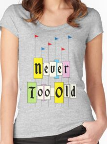 Never too Old 1955 Women's Fitted Scoop T-Shirt
