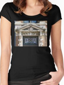 Stain Glass & Concrete Women's Fitted Scoop T-Shirt