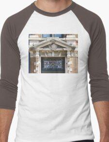 Stain Glass & Concrete Men's Baseball ¾ T-Shirt