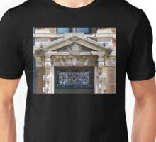 Stain Glass & Concrete Unisex T-Shirt