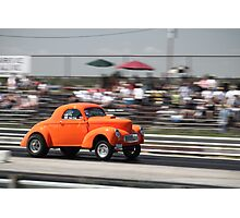 Willys at the HAMB Drags Photographic Print