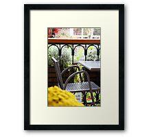 A Secret Spot Framed Print