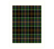 02825 Clay County, Missouri Tartan Art Print