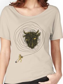 Theseus, the Minotaur, and the Thread Maze Women's Relaxed Fit T-Shirt