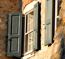 Bethlehem, PA: Shutters at Sunset by ACImaging
