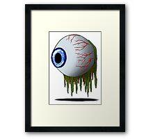 Eye Horror Framed Print