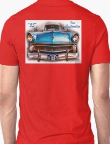 55 Ford Customline, Grill'n - Creative Clothing Unisex T-Shirt