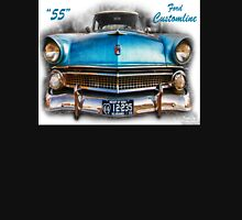 55 Ford Customline, Grill'n - Creative Clothing Hoodie