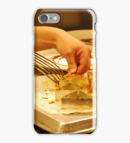 Culinary Competition - De-Molding FOODIE If you like, please purchase, try a cell phone cover thanks iPhone Case/Skin