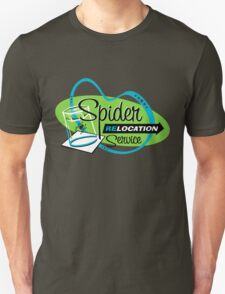 Spider Relocation Service - Lime/Turquoise T-Shirt