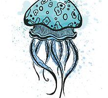 Jellyfish Tangle by Jessi Phillips
