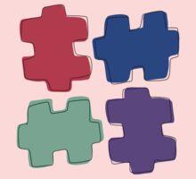 Puzzle Pieces Baby Tee