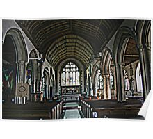 St Mary The Virgin Interior Poster