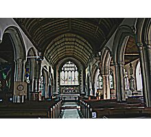St Mary The Virgin Interior Photographic Print