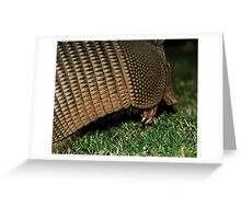 Armored Invader Greeting Card