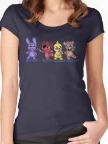 the plush gang Women's Fitted Scoop T-Shirt