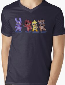 the plush gang Mens V-Neck T-Shirt