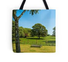 Woodleigh School grounds in July Tote Bag