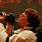 This is work?-Regina Brown, bird photographer by Wayne Cook