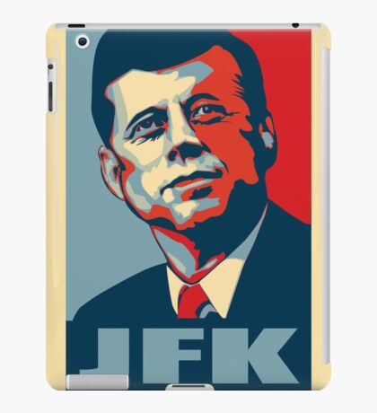 JFK Shepard Hope Style Poster iPad Case/Skin