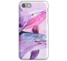 Dolphins pair iPhone Case/Skin