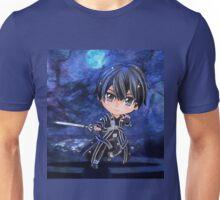 Kirito Sword Art Online (SAO) Chibi Background Unisex T-Shirt