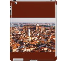 Hot, Hazy and Wonderful - the Red Roofs of Venice, Italy iPad Case/Skin