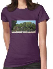 Bright Sky Bridge Womens Fitted T-Shirt