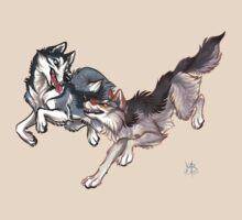 Lookalikes: Husky & Wolf T-Shirt
