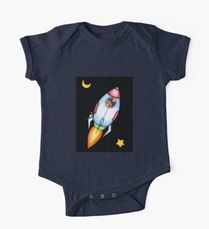 To The Moon! One Piece - Short Sleeve