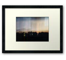 Hemispheric Descension Framed Print