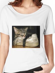 If the shoe fits.... Women's Relaxed Fit T-Shirt