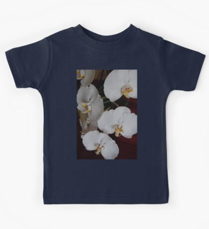 White Orchid IV Kids Tee