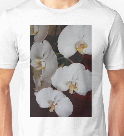 White Orchid IV Unisex T-Shirt