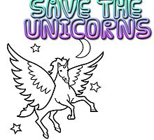 Save The Unicorns by nishberly