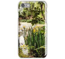 Peaceful Wetlands with Yellow Wildflowers iPhone Case/Skin