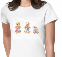Gingerbread Love Womens Fitted T-Shirt