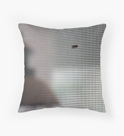 """Untitled (from """"The Plague"""") Throw Pillow"""