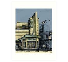 The Metro (Minerva) Theatre, Potts Point Art Print