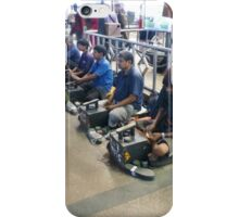 Mumbai Shoe Shiners Waiting for Customers iPhone Case/Skin
