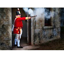 Defending the Fort Photographic Print