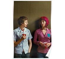 Scott Pilgrim Meets Ramona Flowers Poster