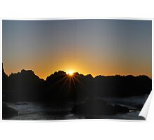Morning Rays. Poster