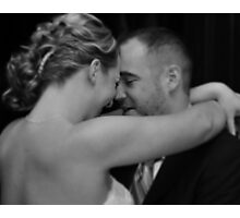 First Dance Photographic Print