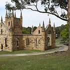 Convict Church Port Arthur Tasmania 1836-37 by PaulWJewell