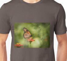 Monarch On Zinnia 1-2015 Unisex T-Shirt