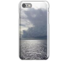 Sunlight on Clouds at sea off Somalia iPhone Case/Skin